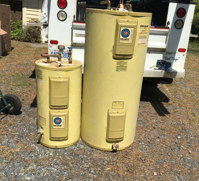 1982 State Select water heaters